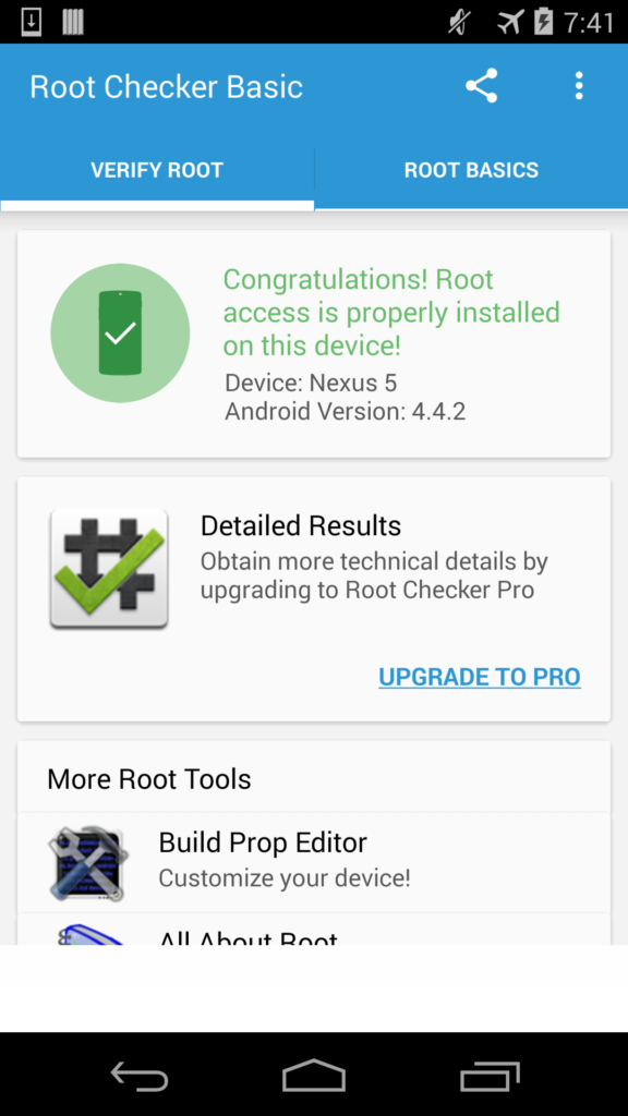Root Checker 6.4.6 Mise à jour