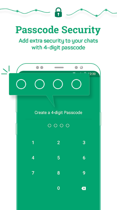Messenger and Chat Lock Locker for Whats Chat App - Secure Private Chat