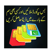 How to Check Complete Details of any Sim Number 2019